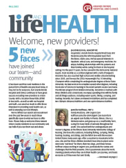 Spring 2021 Life and Health cover