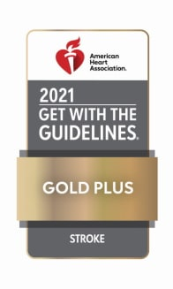 2021 Get with the Guidelines Gold Plus Stroke Award