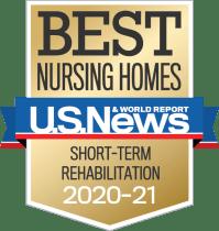 US News & World Report Best Nursing Homes 20-21