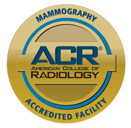 Mammogray services at Iredell Health System are accredited by the American College of Radiology