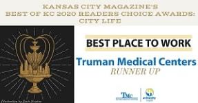 Kansas City Magazine's Best Place to Work Runner Up