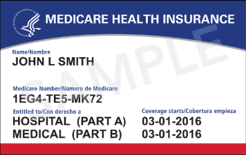 Medicare Card Image