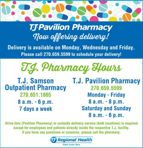 Pavilion Pharmacy Hours and Updates