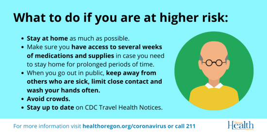 COVID-19 What to do if you are at higher risk