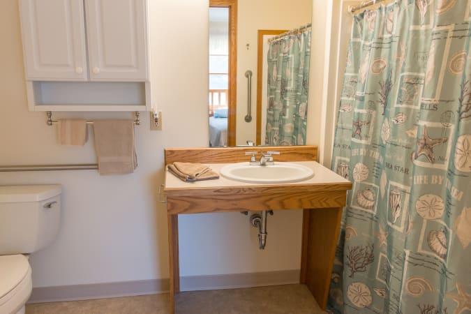 Country Gardens Bathroom