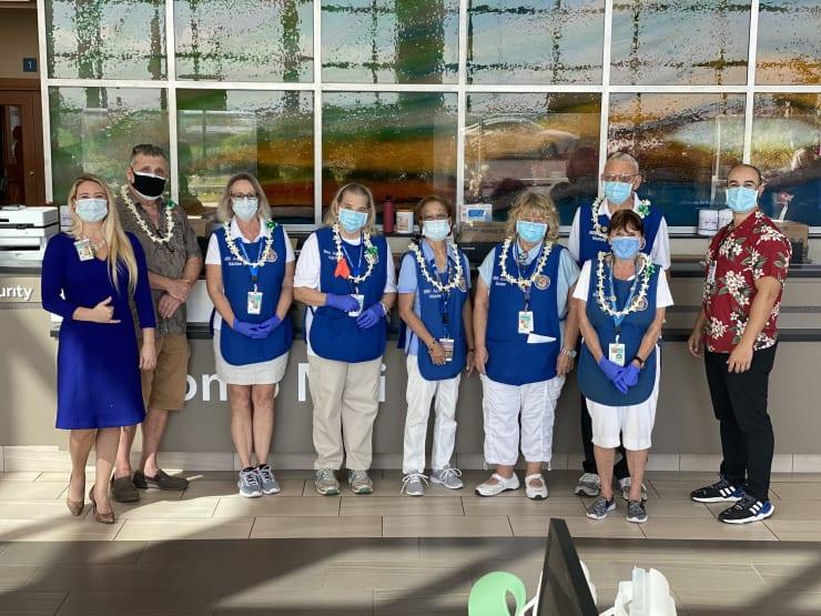Maui Memorial Medical Center Auxiliary Volunteers