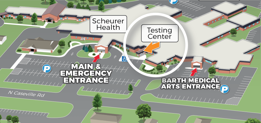 Scheurer Health Testing Center