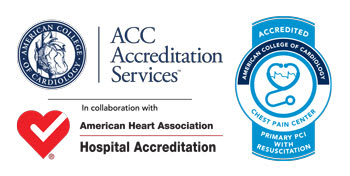 Chest Pain Accreditation Logo