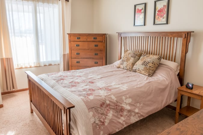 Country Bay Village Bedroom