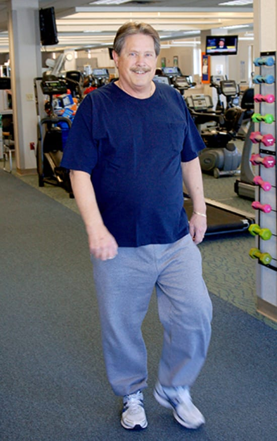 Roger Rand has seen great improvement in his breathing and stamina since beginning pulmonary rehabilitation at Lake Regional Health System.