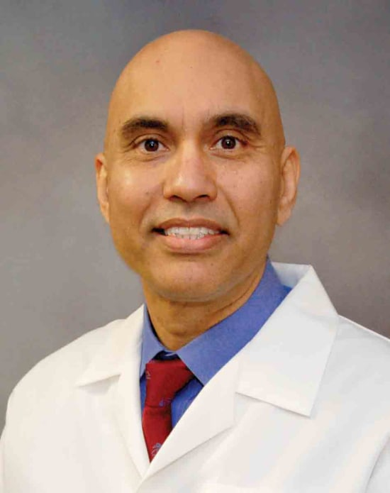 Harbaksh Sangha, M.D., Lake Regional chief medical officer