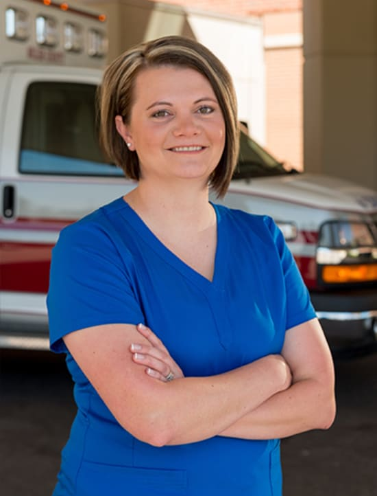 Crystal Lloyd, Lake Regional stroke coordinator, reports Lake Regional's average door-to-needle time is just 37.3 minutes, far better than the national average of 60 minutes.