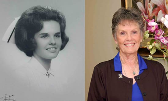 Susan Andres, R.N., will retire this month after 52 years of nursing.