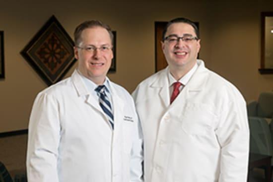 Lake Regional Orthopedic Surgeons Ryan Morris, D.O., and Eric Varboncouer, M.D.