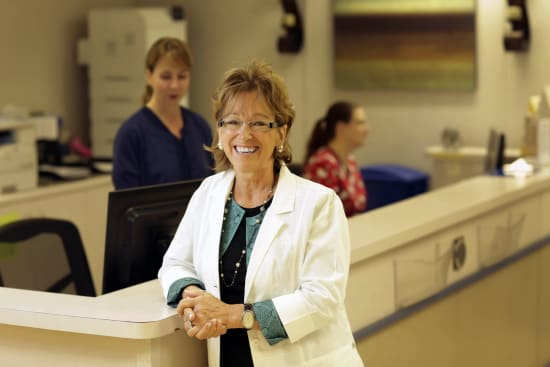 Janny Drover, R.N., nurse manager of Lake Regional Outpatient Services
