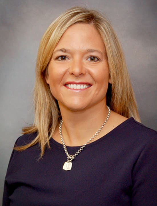 Lindsay Bentley, MSN, RNC-MNN, director of Lake Regional Primary Care