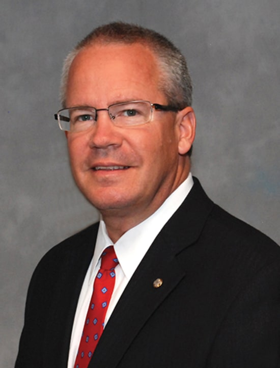 Jim Judas, newly elected president of the Lake Regional Health System Board of Directors