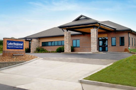 Lake Regional Diagnostic and Surgery Center, located at 1052 Nichols Road, will open Monday, July 10.