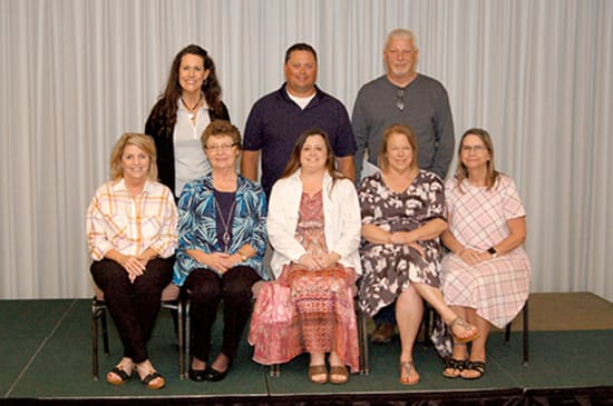 Lake Regional recognized 11 employees for 20 years of continuous service.