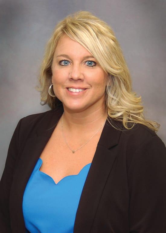 Apryl Welch, R.N., clinic manager at Lake Regional Clinic – Lake Ozark