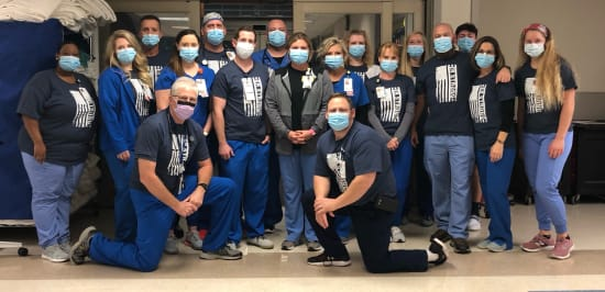 """The theme of Emergency Team Week at Lake Regional is """"strong."""" This year has been extraordinarily challenging for health care workers, but the team members at Lake Regional Emergency Department have continuously adapted to provide exceptional care to patients."""