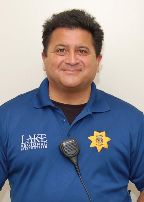 Ron Lopez, Lake Regional True Blue Employee of 2021