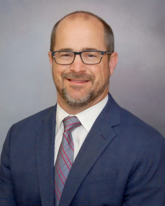 Lake Regional Hospitalist Josh Brickner, D.O., was elected Lake Regional Health System's new chief of staff.