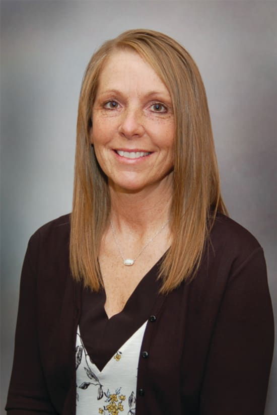 Becki Harris, clinic manager of Lake Regional Clinic – Osage Beach and Lake Regional Express Care – Osage Beach