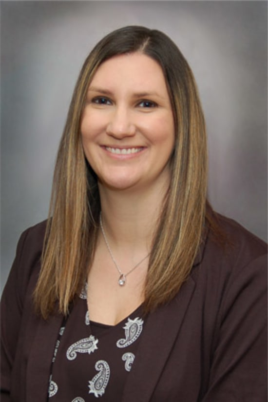 Lyndsy Wolfe, BHS, RRT-NPS, Respiratory Therapy manager
