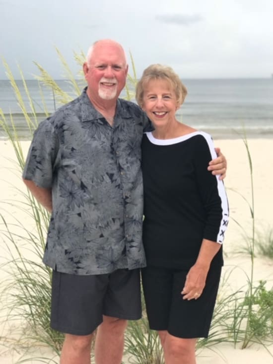 Nancy McElyea relied on the support of her husband, Charlie, to get her through her cancer diagnosis and treatment.