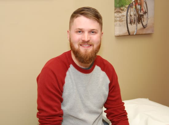 Matthew Amsberg continues to receive follow-up care at Lake Regional Orthopedics.