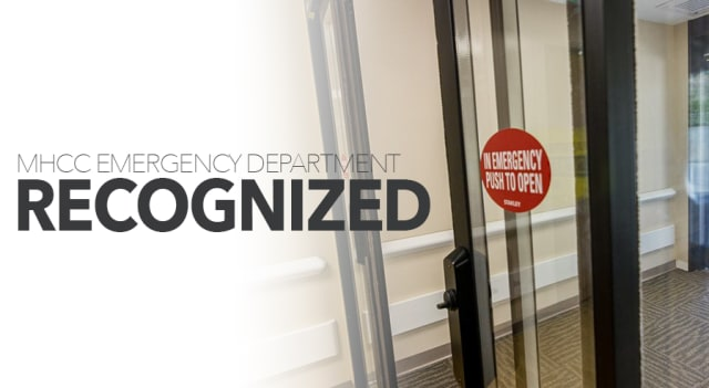 MHCC Emergency Department recognized
