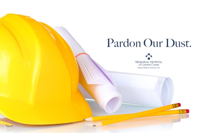 Pardon our dust