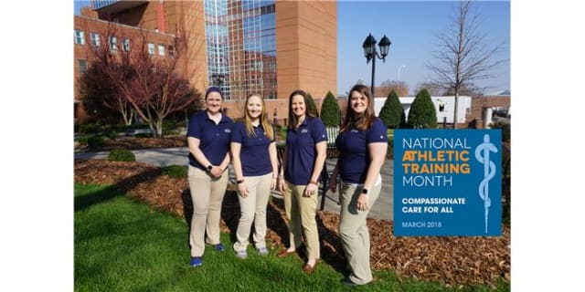 Iredell Health System athletic trainers