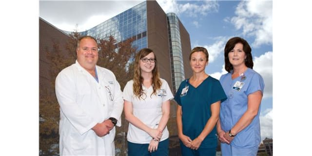 Ken Sauser, CRNA; Sarah Martin, RN; Karen Parks, RN; Shelia Shuford, BSN, RN