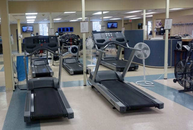 Cardiac rehab gym