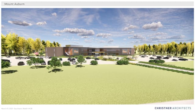 West campus expansion rendering