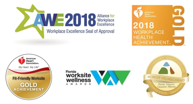 Wellness Award Logos