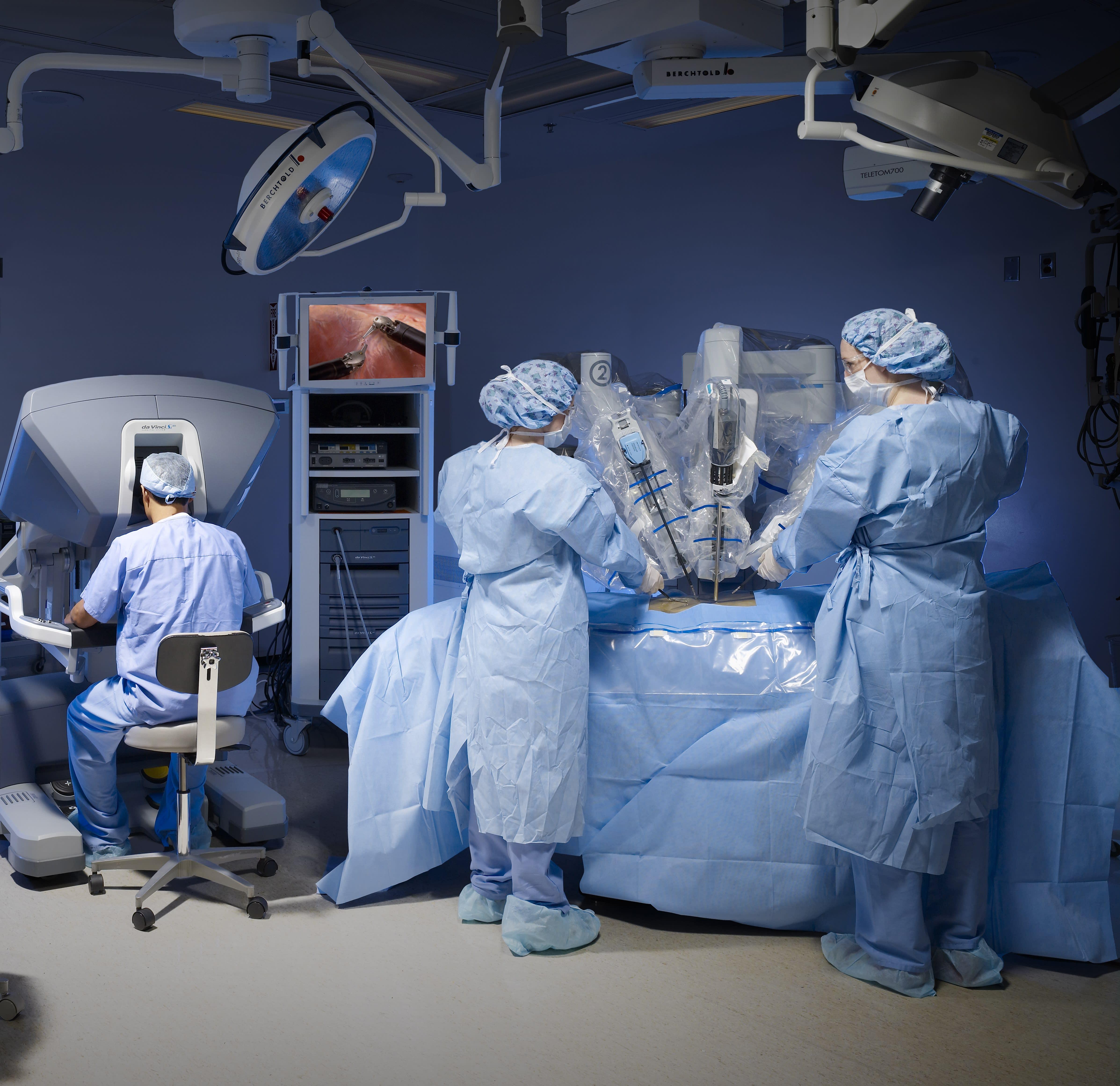 Minimally Invasive Robotic Surgery