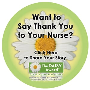 Want to say thank you to a nurse? Click here to share your story!