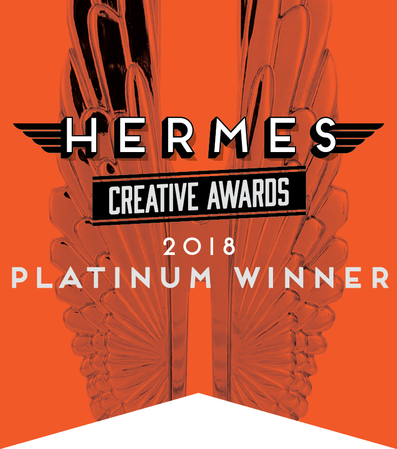 Hermes Creative Awards 2018 Platinum Winner