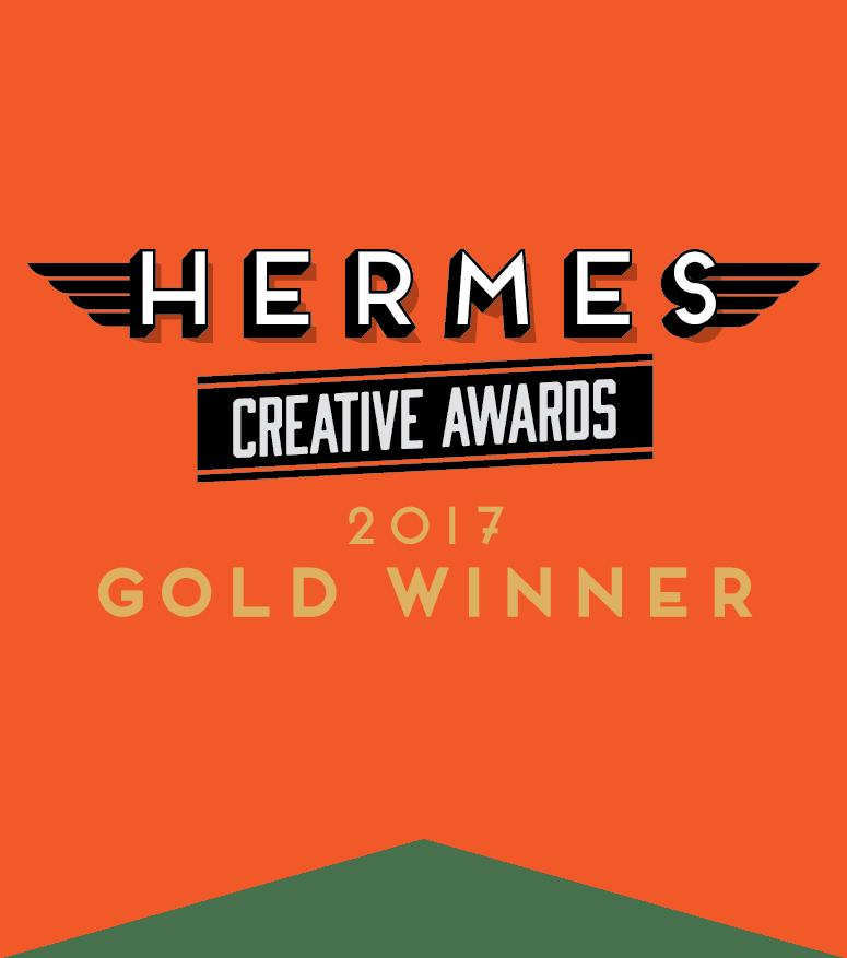 Hermes Creative Awards 2017 Gold Winner