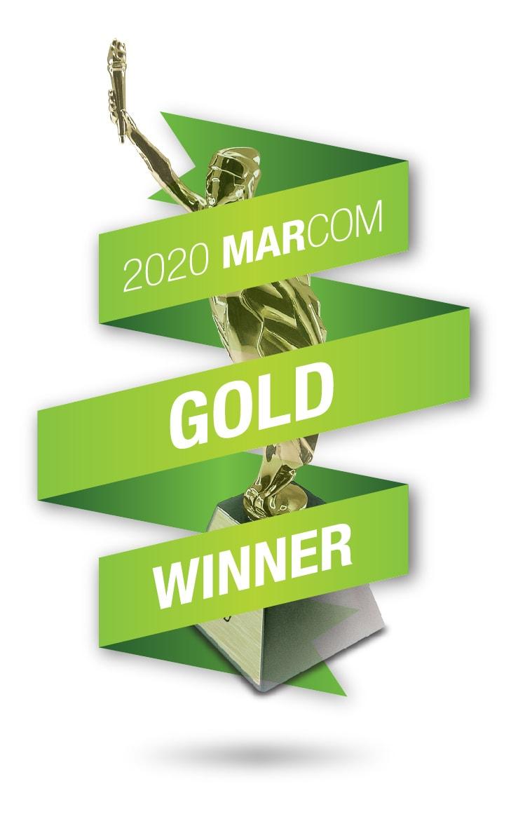 2020 MarCom Gold Winner