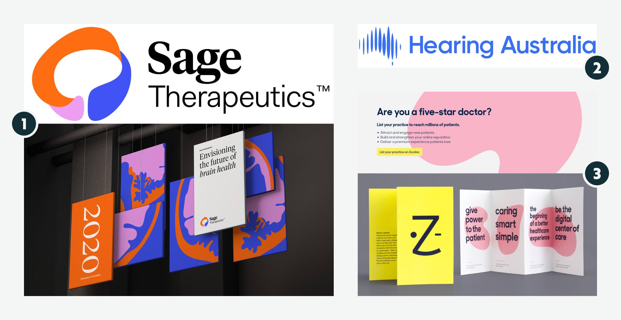 Sage Therapeutics, Hearing Australia, Zocdoc