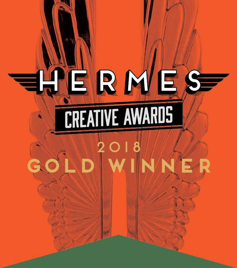 Hermes Creative Awards 2018 Gold Winner