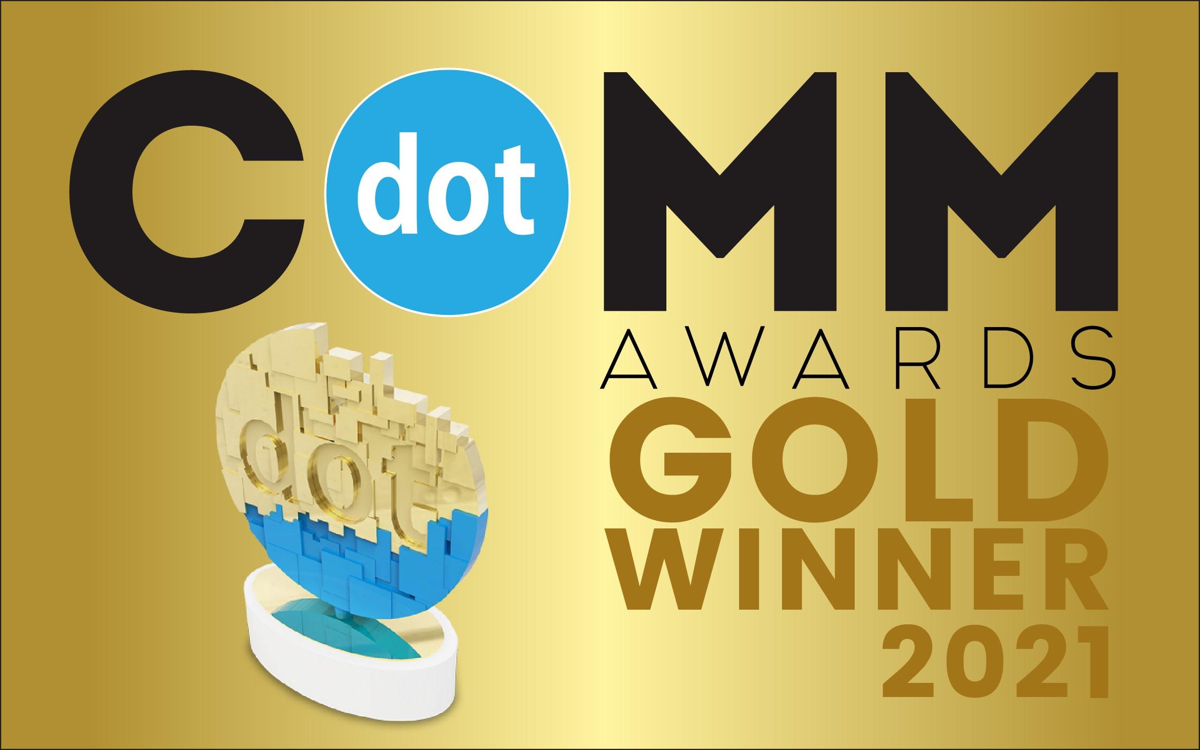dotCOMM Awards Gold Winner 2021