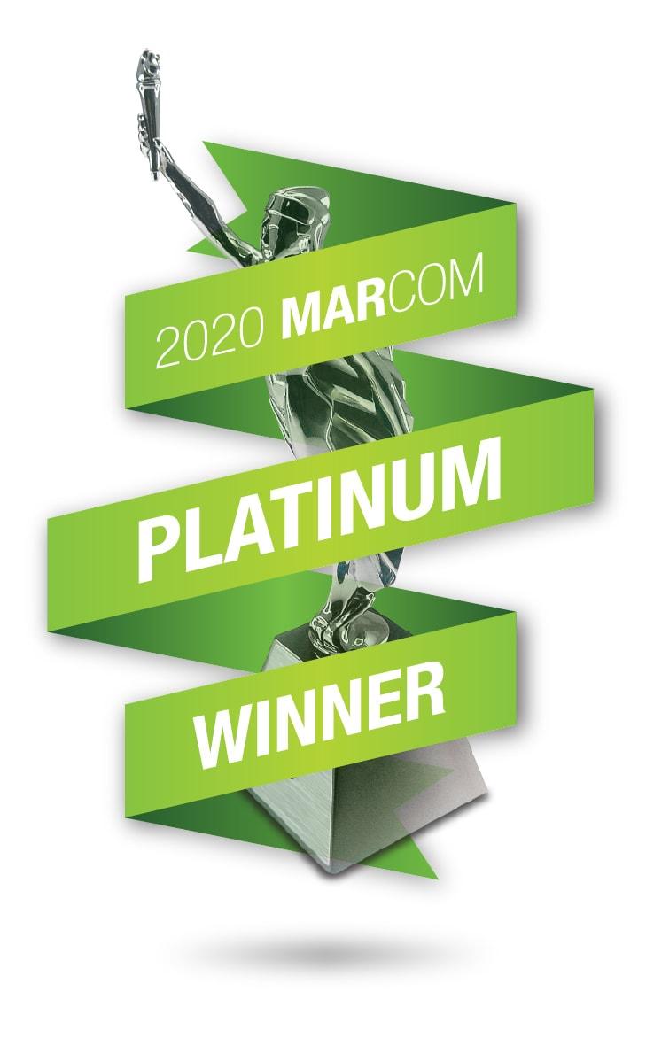 2020 MarCom Platinum Winner