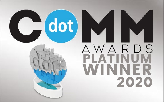 dotCOMM Awards Platinum Winner 2020