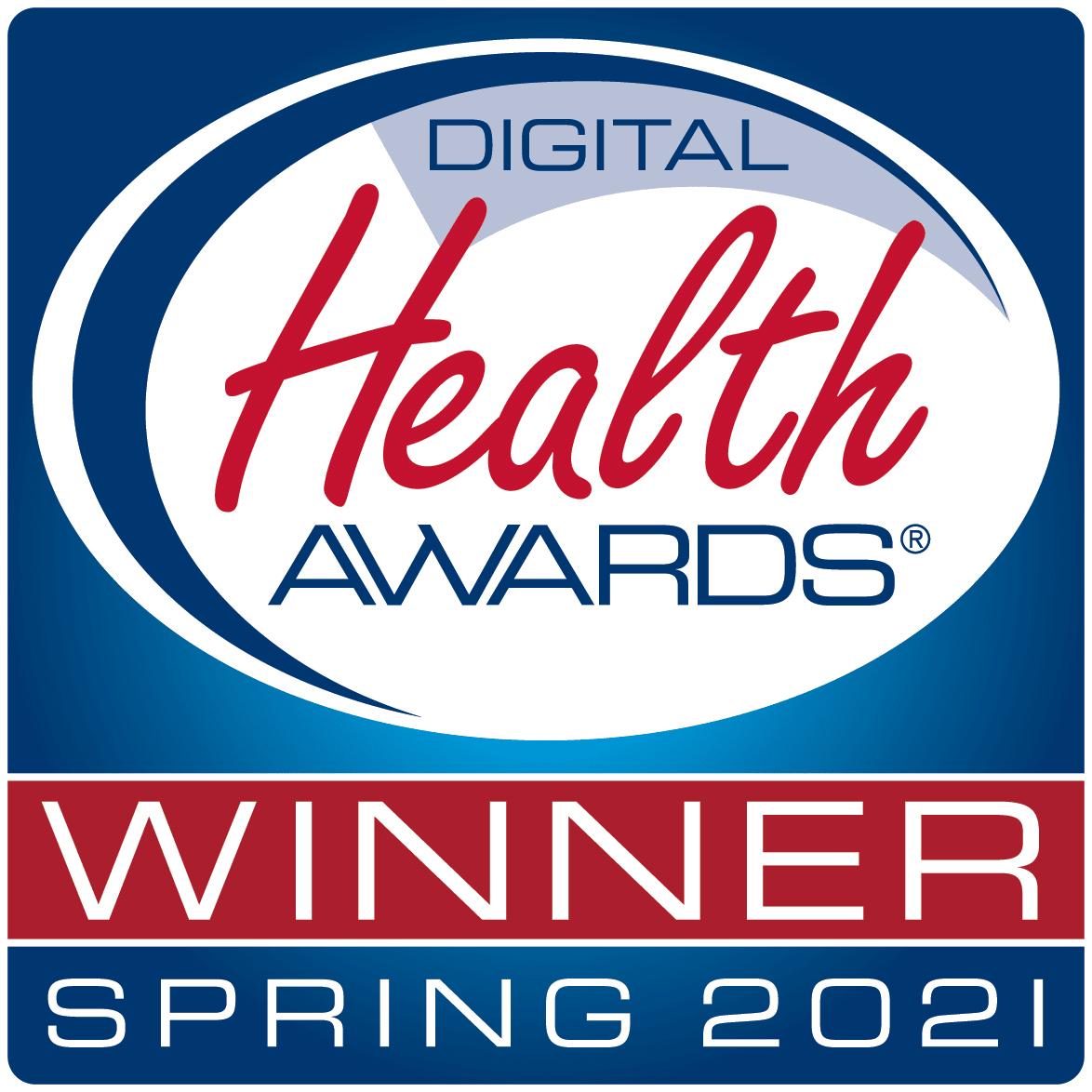 Digital Health Awards Winner Spring 2021