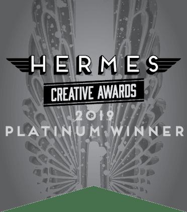 Hermes Creative Awards 2019 Platinum Winner